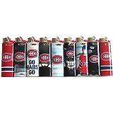 BIC NHL Canadiens de Montréal Taille complète briquets Lot de 8