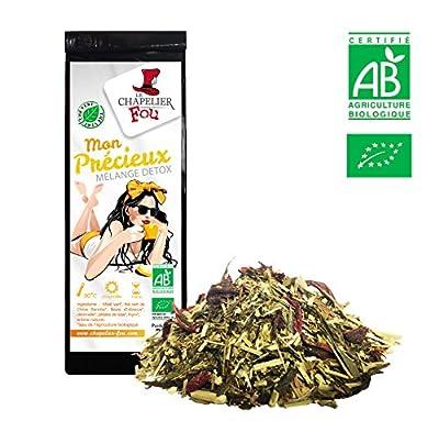 Mélange détox - Thé vert / maté citronnelle thym bio - sachet 100g - ? Certifié Agriculture biologique ?