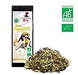 Mischung Detox–Tee grün/Mate Zitronengras Thymian BIO–Beutel 100g–★ zertifiziert Landwirtschaft Bio ★