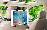 Auto Kopfstütze Tablet Halterung 360° Grad einstellbar rotierende Universal KFZ Rücksitz montieren für Apple iPad 2/3/4/Mini/Air/Pro,Samsung Galaxy Tab,Microsoft Surface und andere 7