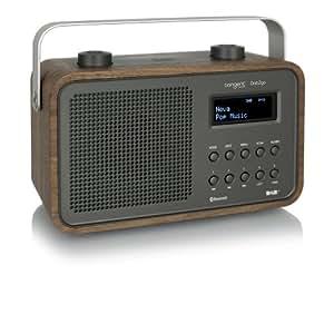 Tangent T-DAB2GO-BT/WN Radio portable Noix