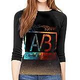 Photo de hdghgfjfghjd T-Shirts Femme Manches 3/4,t Shirts pour Femmes,Womens Armin Van Buuren 3/4 Sleeve Raglan Baseball T Shirt Black Graphic Ladies Tee Tunic Tops par hdghgfjfghjd