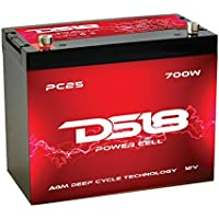 DS18 PC25 Car Audio Power Cell Battery, 700 W - ukpricecomparsion.eu