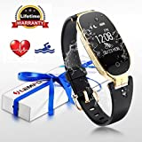 Fitness Tracker, LEMFO Heart Rate Monitor Women Swimming Waterproof Ladies Activity Tracker Smartb