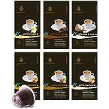 Gourmesso Flavour Box – 120 Nespresso kompatible Kaffeekapseln
