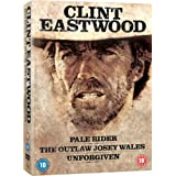 Clint Eastwood Westerns Collection (Pale Rider  Unforgiven  Outlaw Josey Wales) [Blu-ray]