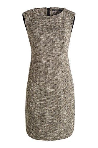 ESPRIT Collection - 026eo1e005 - Tweedoptik, Vestito Donna Grau (DARK GREY 020)