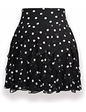 QPSSP-nieve falda tejida Código Grande Punto Onda Nieve tejida de damas vestido en la parte superior del cuerpo