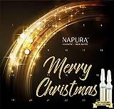 Ampullenkur Napura, ABVERKAUF, AKTION, limitierte luxus Edition mit 24 Karat Goldampulle, 24-Tage-Kur, straffend, pflegend, glättend und regenerierend, 24 x 2 ml