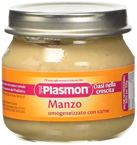 Plasmon Omogeneizzato di Carne di Manzo -