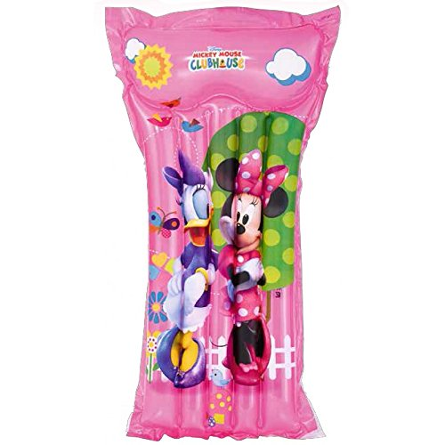 Bestway 91034B-03 - Luftmatratze Disney Mickey Mouse Clubhouse Girls, 119 x 61 cm
