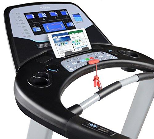 51GmcDNCdwL - JTX Sprint-7: High Performance 20KPH Home Treadmill with Large Shock Absorbing Running Deck