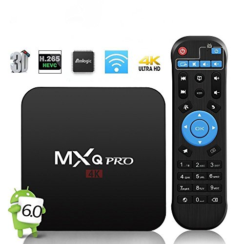 Foto Android Tv Box MXQ Pro 4K Full HD,GooBang Doo Smart TV Box Full HD Android 6.0/ 1G RAM+8G ROM/ Amlogic Marshmallow OS / 64 Bits / Quad-Core