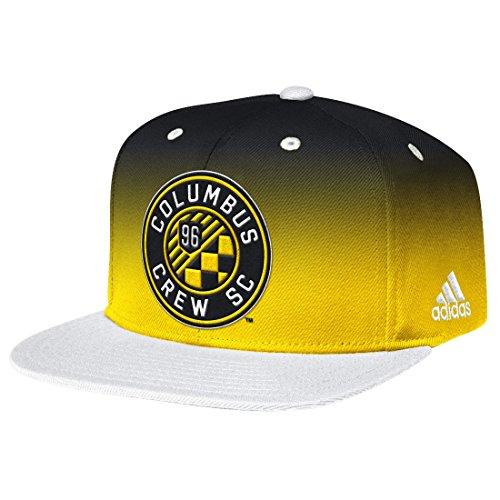 Columbus Crew Adidas MLS Team Performance Gradient Snap Back Hat (Columbus Crew Hat)