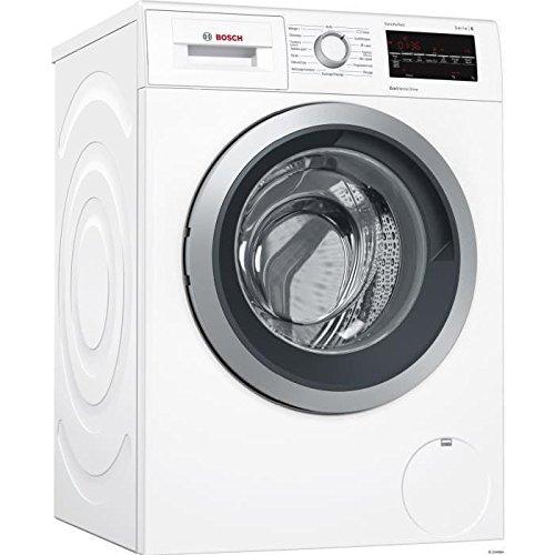Bosch Serie 6 WAT28419FF Autonome Charge avant 9kg 1400tr/min A+++-30% Blanc machine à laver - Machines à laver (Autonome, Charge avant, Blanc, Rotatif, Tactil, Gauche, LED)