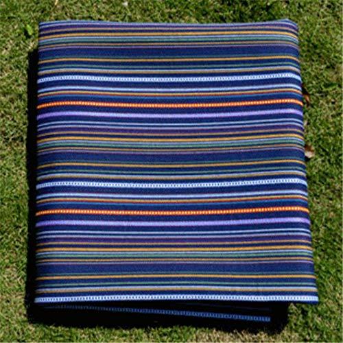 QWEASDZX Ethnische Wind-Picknick-Matte Outdoor-Teppich Strandmatte Falten Picknick-Teppich E 150X150CM