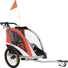 WeeRide 96090 Remolque para Bicicleta, Niños, Rojo/Azul, ...