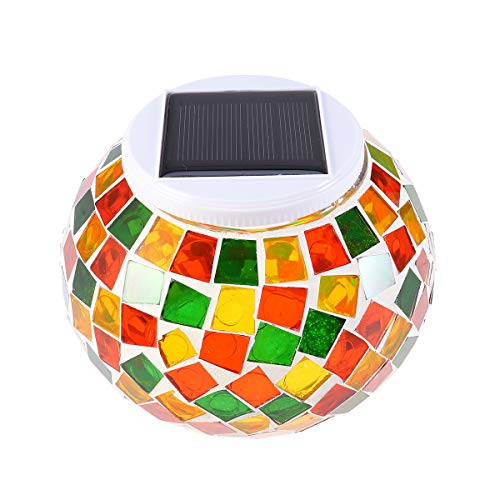 Uonlytech Lámpara alimentada energía Solar LED Lámpara