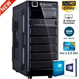 PC DESKTOP CON LICENZA WINDOWS 10 pro oppure Windows 7 pro Talloncino con seriale a vostra scelta INTEL QUAD CORE RAM 8GB DDR4 HD1TB DVD/WIFI/HDMI FISSO COMPLETO ASSEMBLATO