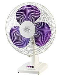 Usha Mist Air Ex 400mm Table Fan (Purple)