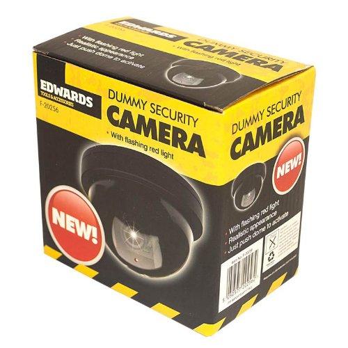 Decoy Dummy CCTV Dome Camera with Flashing LED