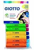 Giotto 6923 00 - Blister mit 5 + 1 gratis Kreidehaltern für RoberColor Wandtafelkreide