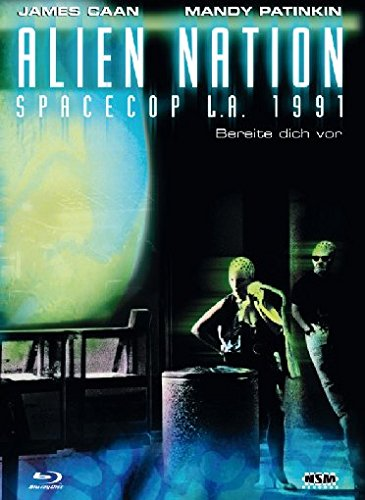 Alien Nation - Spacecop L.A. 1991 - Mediabook (+ DVD) [Blu-ray] [Limited Collector's Edition]