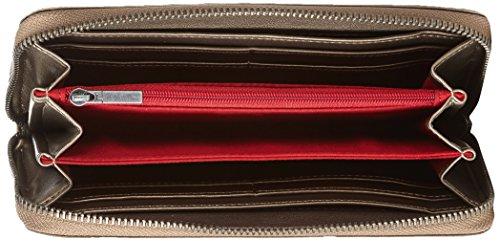 Fritzi aus Preussen Nicole FaP-PRE-15-24 Damen Geldbörsen 20x10x3 cm (B x H x T), Rot (Bordeaux-V 23) Braun (Lynx)