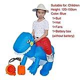 Ferrell Trajes inflables Holiday Carnaval Disfraz Dinosaurio Divertido Cosplay Disfraz de Halloween para niños Adultos