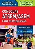 Concours ATSEM/ASEM 2019/2020 - L'oral en 170 questions...