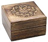 Magische Geschenkbox, Trickbox, Trickkiste, geheime Magic Box 10 x 10 x 6,5 cm