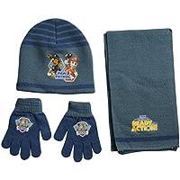 Paw Patrol - Set invierno, gorro, bufanda y guantes (Factory PT02253_1)