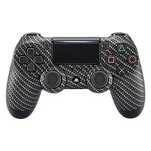 eXtremeRate PS4 Gehäuse Case Hülle Schutzhülle Cover Oberschale Skin Schale Zubehör Spiele für Playstation 4 PS4 Slim PS4 Pro Controller CUH-ZCT2 JDM-040 JDM-050 JDM-055