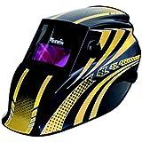 Cevik PRO PE820PRO - Pantalla de soldadura automática regulable, color amarillo y negro