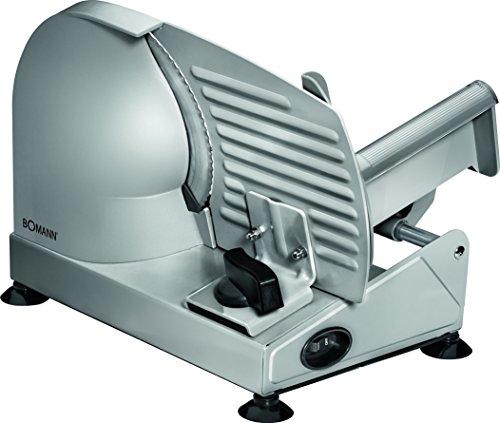 Bomann MA 451 CB - acero inoxidable, corte ajustable, disco corte 19 cm, 150 W