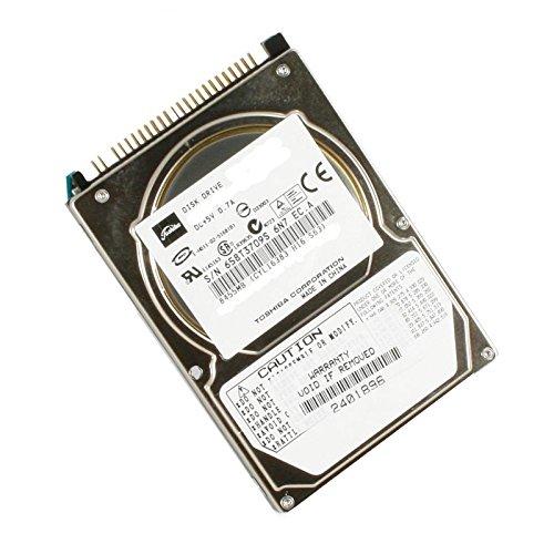 Toshiba 'Festplatte 80GB IDE ATA 2,5 MK8025GAS 4200RPM 8MB Laptop hdd2a02 -