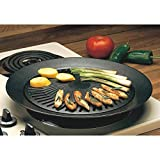 New Smokeless Indoor STOVETOP BBQ GRILL Barbeque Kitchen Barbecue Pan Griddle by Grill