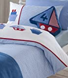 Catherine Lansfield Kids Sailing Boats Single Quiltset, Multi