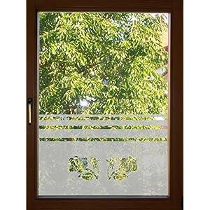 655 / 65cm hoch Sichtschutzfolie Fensterfolie Glasdekor Folie