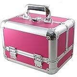 DynaSun Bss35 Beauty Case Make Up Nail Art Porta Gioie, Rosso, XXL