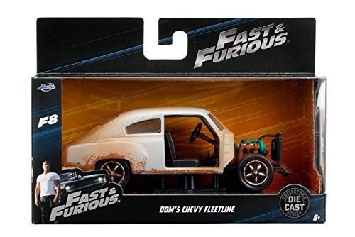 Jada Fast & Furious 8 Diecast Model 1/32 Dom\' S Chevrolet Fleetline Toys Vehicles