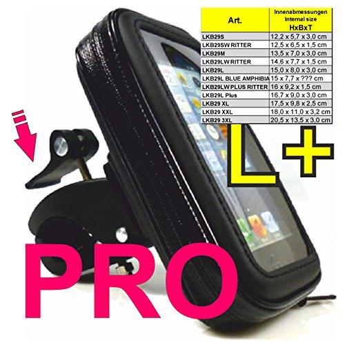 LKB29L PLUS PRO Universal SMARTPHONE Motorrad Lenker Handy Hülle bis ca. 6,2