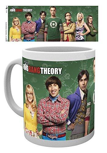 Big Bang Theory mug Cast, Mugs-Tasses-fan-serie