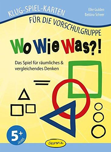WoWieWas?!: Das Spiel für räumliches & vergleichendes Denken (Klug-Spiel-Karten) (Klug-Spiel-Karten für die Vorschulgruppe)