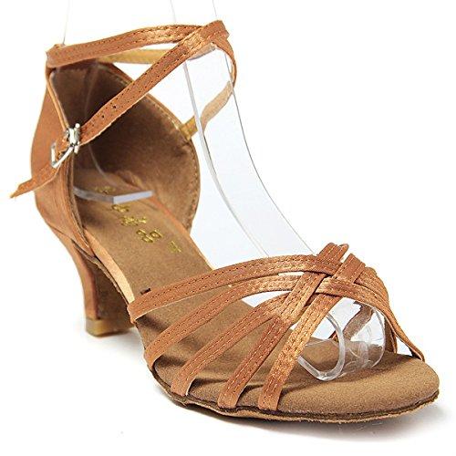 Tacon Baile Sandalias Mujer Par Latinos 1 Bachata De Zapatos Generico Salsa 5wwnqOxpZF
