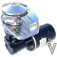 MOLINETE VERTICAL DOLPHIN ALUMINIO 12V-1000W BARBOTIN