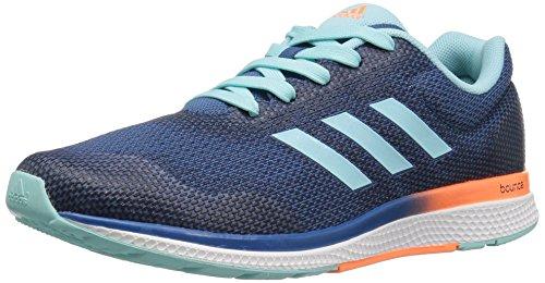 adidas Performance Women's Mana Bounce 2W Aramis Running Shoe, Clear Aqua/Glow Orange/White, 11 M US