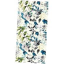 Blickdicht Blume 45 * 200cm 100/% lichtundurchl/ässig Sichtschutz zum Aufkleben Vinylaufkleber ohne Gelkleber Do4U Verdunklungsfolie f/ür Fenster leicht zu entfernen