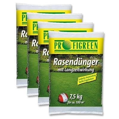 30 kg Rasendünger mit Langzeitwirkung (4 x 7,5 kg-Vorteilspack) mineralisch oganisch von Jawoll auf Du und dein Garten