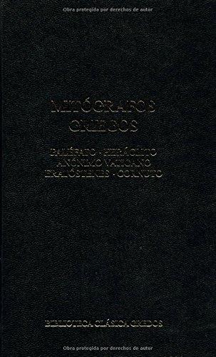 376. Mitógrafos griegos (B. BÁSICA GREDOS) por Palefato Heraclito